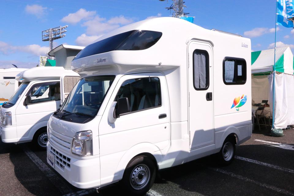 自動車 キャンピングカー 軽