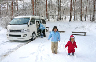 冬こそキャンピングカーのオンシーズン!
