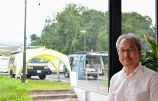 オリジナリティーのあるキャンピングカーを追求しながら、新たな挑戦に挑むアネックス田中社長