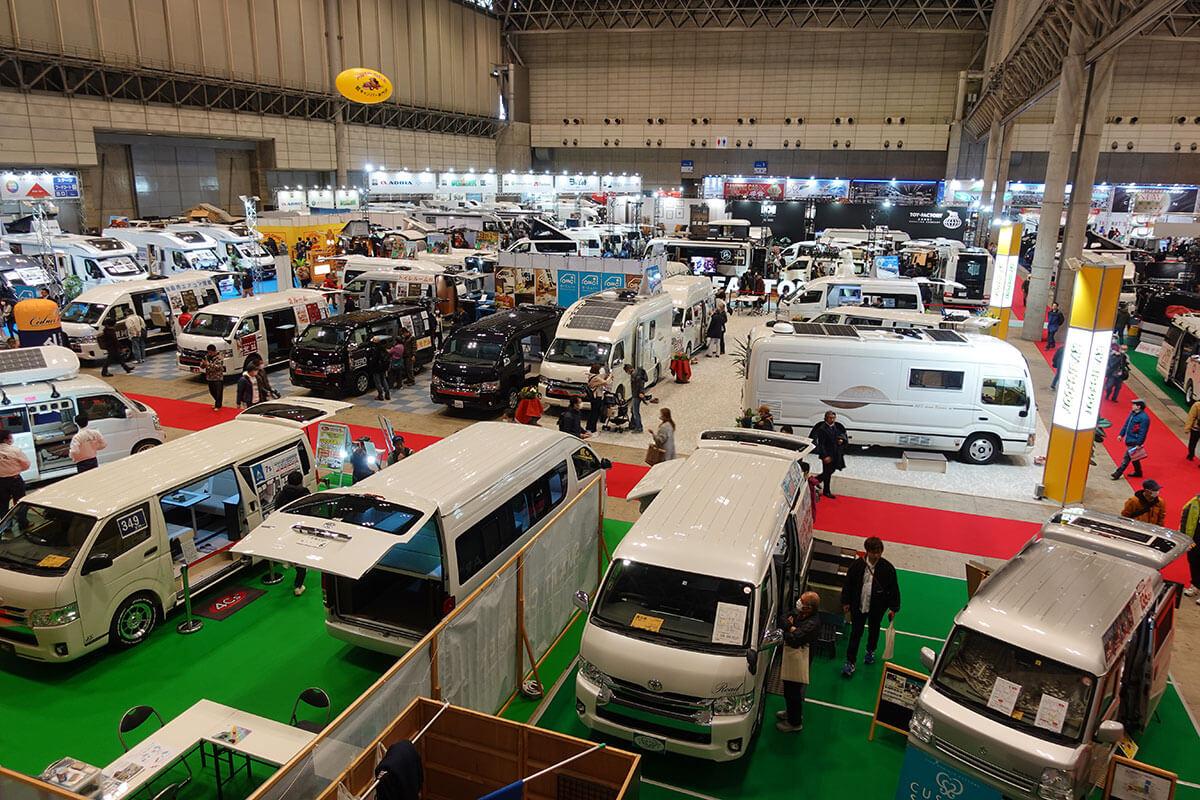 ジャパンキャンピングカーショー2021ビルダー一押し情報