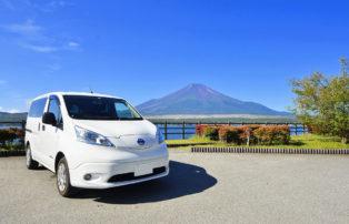 電気自動車e-NV200のキャンピングカーがレンタルで登場